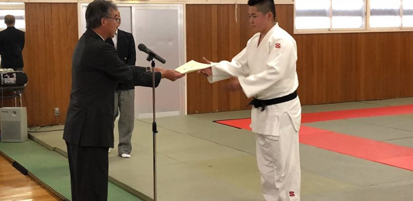 定時制通信制柔道(北海道)大会進出!