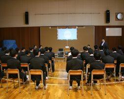 OB講演会(総合的な探究の時間)